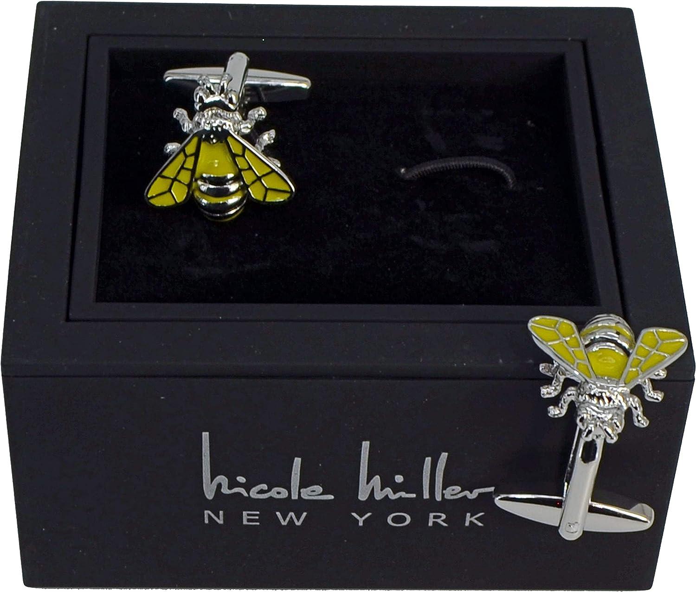 Nicole Miller Studio Bee Cuff Links