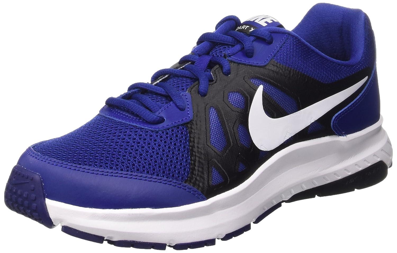 Nike Dart 11 Zapatillas de Running, Hombre 46.5 EU Azul / Blanco / Gris (Deep Royal Blue/White-blck-wht)
