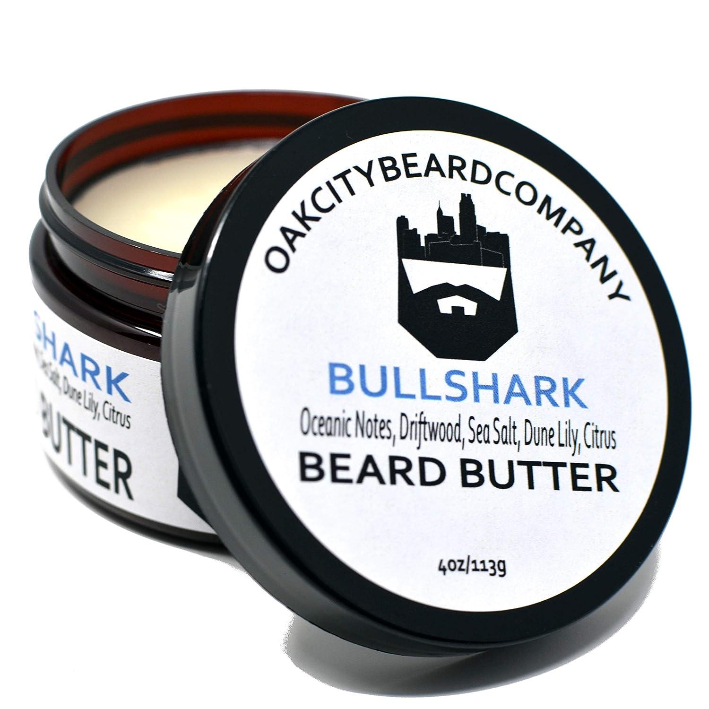OakCityBeardCo. - Bull Shark - 4oz Beard Butter - Spring & Summer Collection - Beard Conditioner