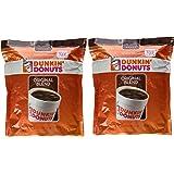 Dunkin' Donuts Original Blend Medium Roast Ground Coffee 100 % Premium Arabica Coffee 40 oz. (Pack of 2)