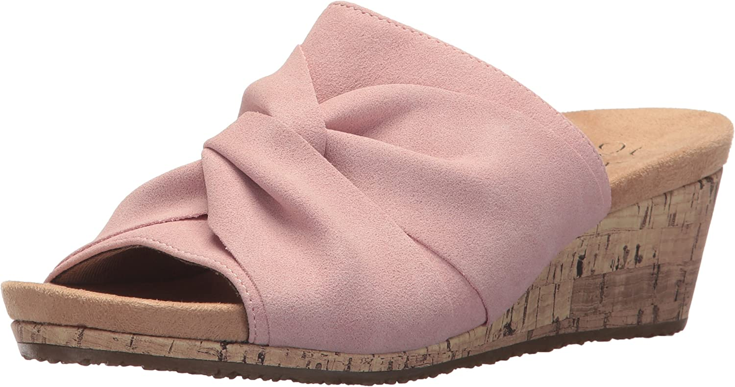 LifeStride Womens Mallory Wedge Sandal