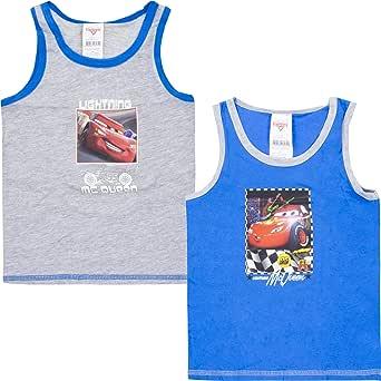 Pack de 2 camisetas interiores para niño, camiseta de tirantes para niños multicolor 122 cm-128 cm: Amazon.es: Ropa y accesorios