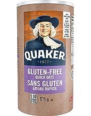 Instant Quaker Oats Quaker Gluten-Free Quick Oats, 511g