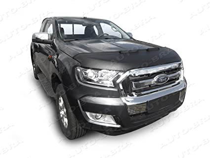 Ford Ranger 2017 >> Amazon Com Ab3 00260 Hood Bra For Ford Ranger Since 2017 Bonnet Bra