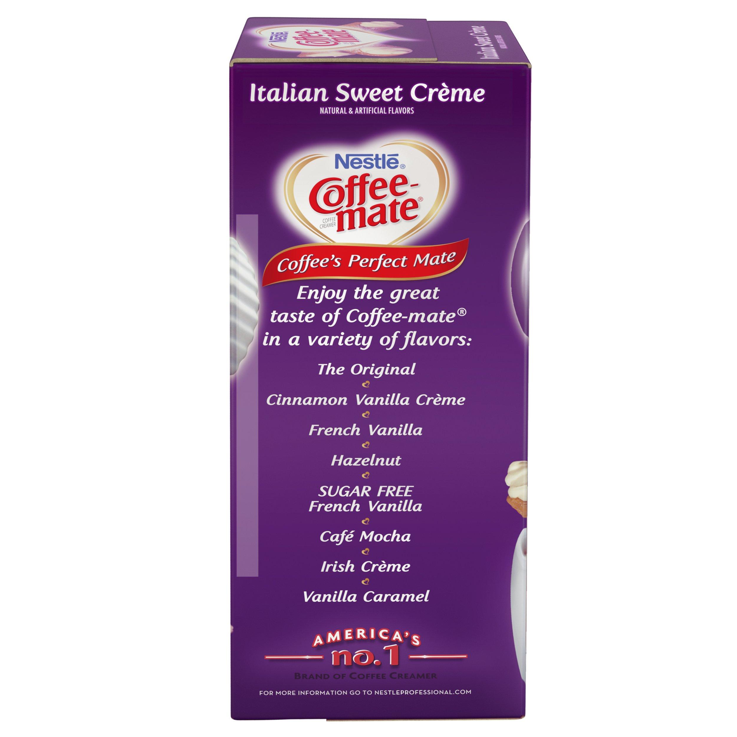 NESTLE COFFEE-MATE Coffee Creamer, Italian Sweet Creme, liquid creamer singles, Pack of 200 by Nestle Coffee Mate (Image #5)