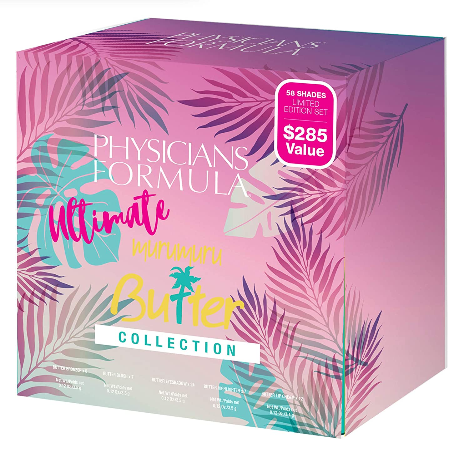 Physicians Formula Limited Edition Holiday 2019 Ultimate Butter Collection