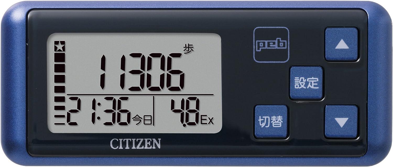 シチズン(CITIZEN) デジタル歩数計 peb ブルー TW700-BL