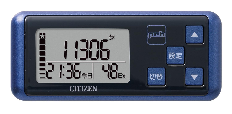 シチズン(CITIZEN) デジタル歩数計 peb ブルー TW700-BL B001OC6XA4