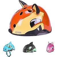 Helmet for Kids 2 Years- 13 Years old Lightweight Cycling Helmet Kids Cartoon Shape Multi-Sport Safety Sporting Goods Girls Boys