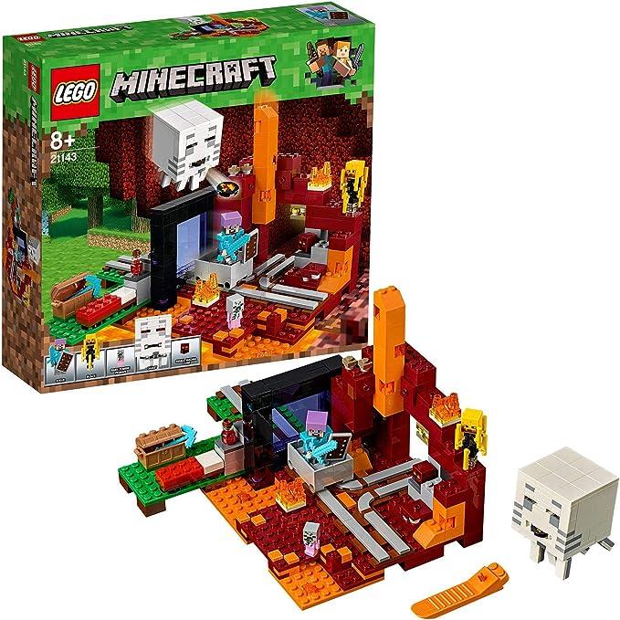 LEGO Minecraft - Portal al Infierno, Juguete de Construcción ...