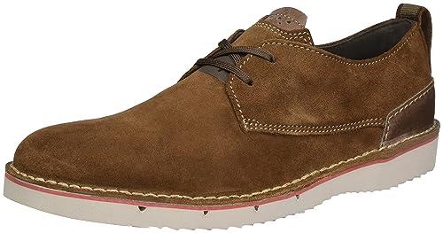 3238139ca Clarks Men s Capler Plain Brown SDE Leather Clogs and Mules - 10 UK India (
