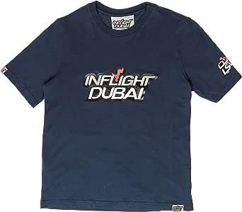 Inflight Dubai Round Neck T-Shirt For Boys