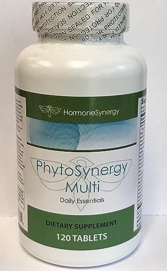 Amazon.com: phytosynergy Multi w/o hierro | 120 comprimidos ...