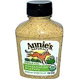 Annie's Naturals, Organic, Horseradish Mustard, 9 oz (255 g) -- 2PC