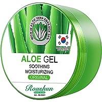 Roushun aloe vera for soothing &Moiturizing aloe vera 99% gel 300ml