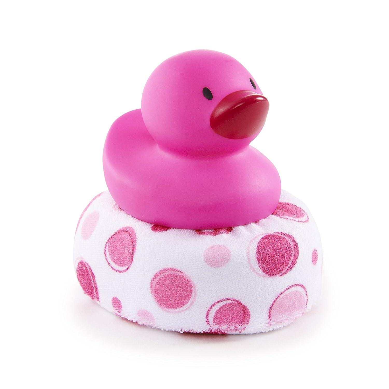 Amazon.com : Munchkin Duck Duck Clean Sponge Bath Toy, Pink : Baby