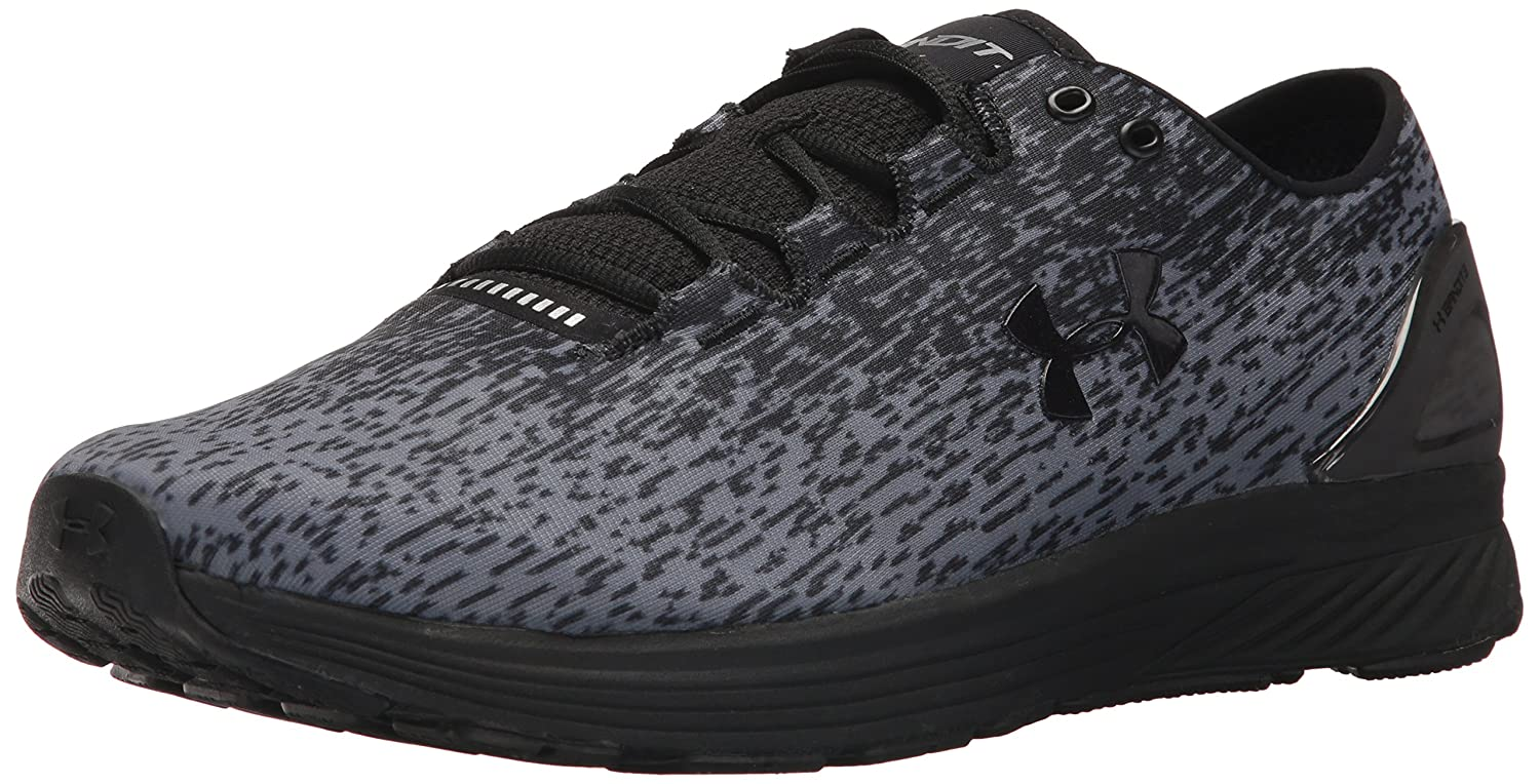 Under Armour Men's Charged Bandit 3 Ombre Sneaker B071VJN6PL 9 M US|Black (004)/Zinc Gray
