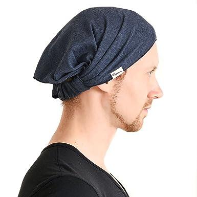 04fa47faee3fc4 CHARM Casualbox Vorgebunden Bandana Bio Baumwolle Stirnband Herren Damen  Kopf Bänder Navy