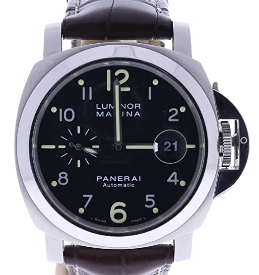 Panerai Luminor Marina automatic-self-wind Mens Reloj PAM00164 (Certificado) de segunda mano: Panerai: Amazon.es: Relojes
