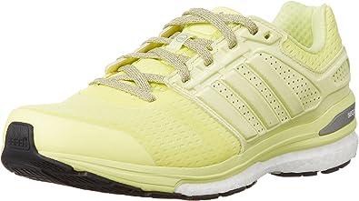 adidas Supernova Sequence Boost 7, Zapatillas de Atletismo para Mujer, Lima/Negro, 36 2/3 EU: Amazon.es: Zapatos y complementos