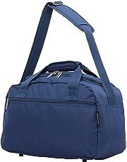 Aerolite New 2019 Ryanair 40x20x25 Maximum Size Holdall Cabin Luggage Flight Bag, Black