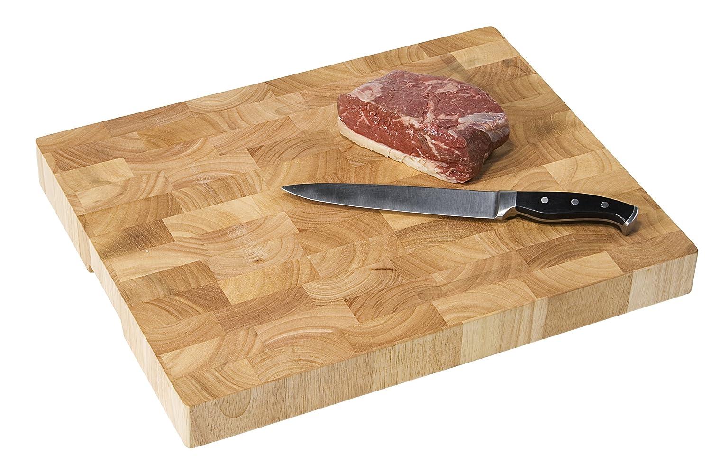 Triangle Beechwood Chopping Board for Mezzaluna Wood