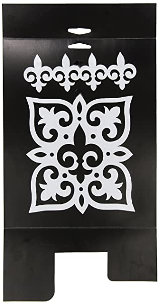 FolkArt Large Painting Stencil, 30593 Fleur Motif