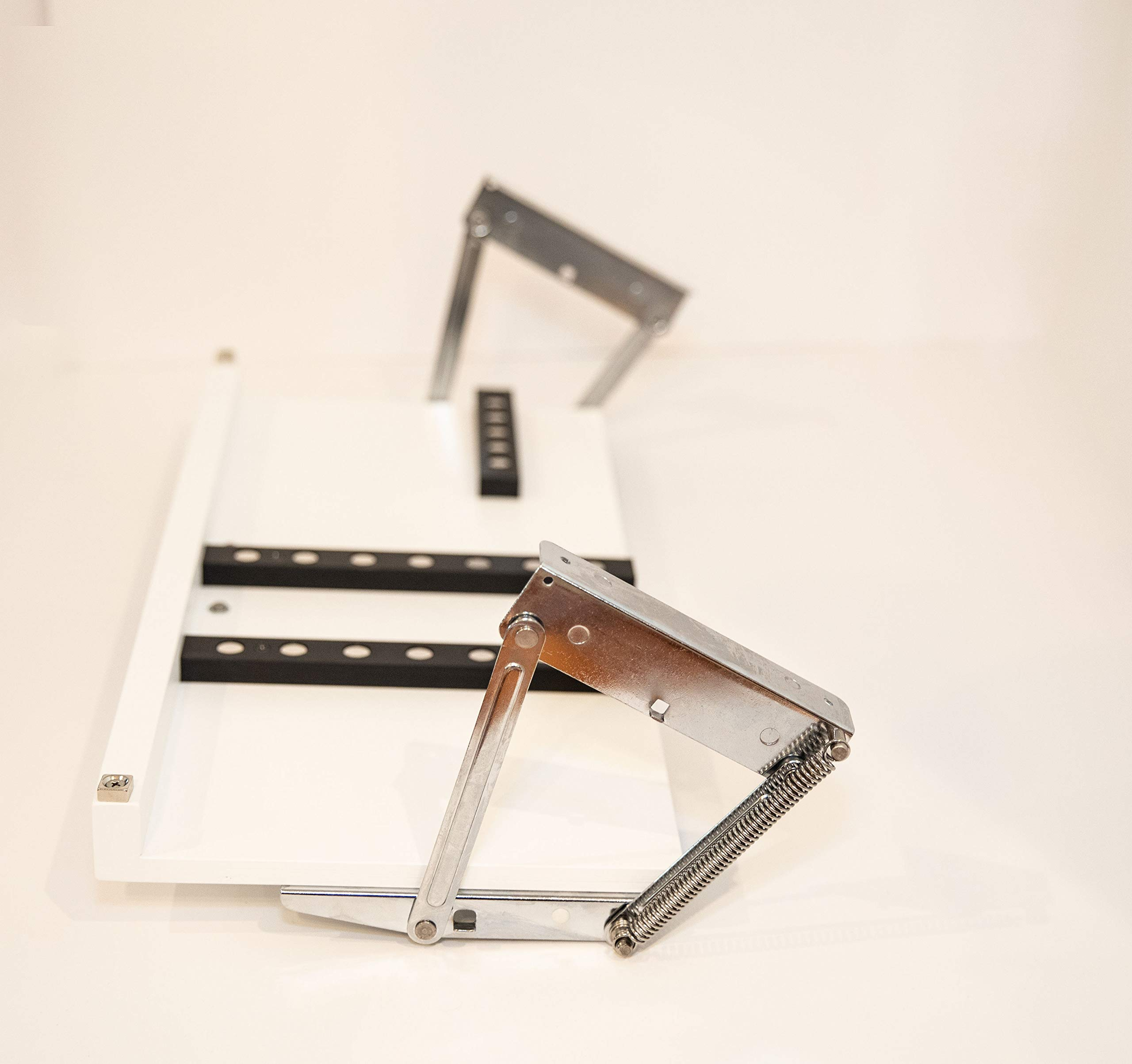 Under Cabinet Knife Block - Large Shown - 3 Sizes Available & 5 Finishes (X-Large, White)