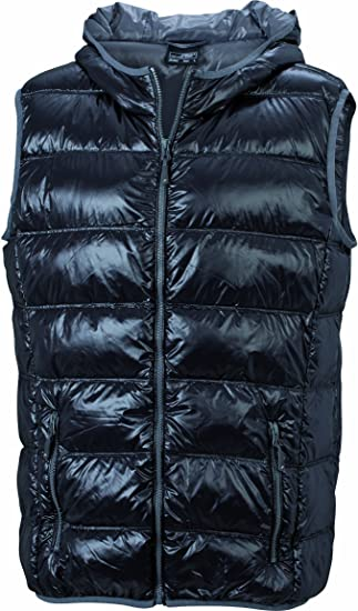 James & Nicholson Men's Down Vest Chaqueta para Hombre