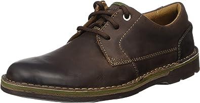 TALLA 44 EU. Clarks Edgewick Plain, Zapatos de Cordones Derby Hombre
