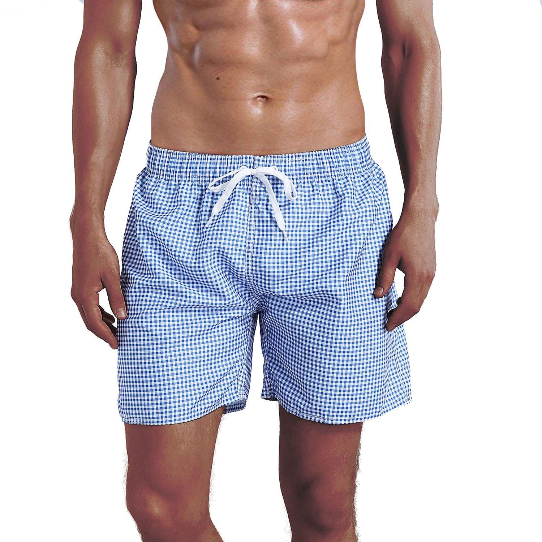 MILANKERR Men's Swim Trunk Beach Shorts