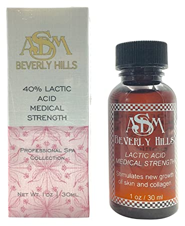ASDM Beverly Hills 30% Glycolic Acid Medical Strength, 1oz InstaNatural Acne Face Wash with Salicylic Acid for Oily & Combo Skin, 6.7 Oz
