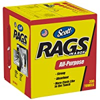 Deals on 200-Count Scott Rags in a Box Paper Cleaning Cloth