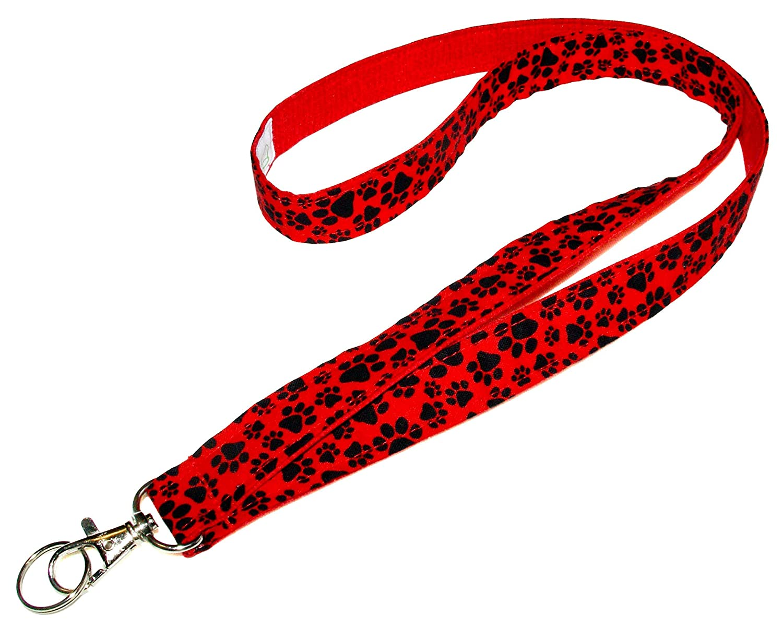Dodge Lanyard Red Logo White Imprint High Quality 1 inch x 22 inch Key Chain ID Badge Card Holder Hanger