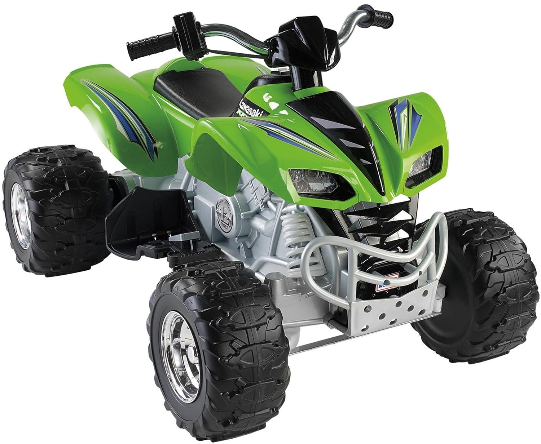 amazon com power wheels kawasaki kfx green toys u0026 games