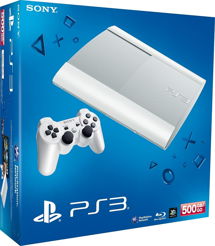 Console PS3 500 Go Blanche [Importación Francesa]: Amazon.es ...