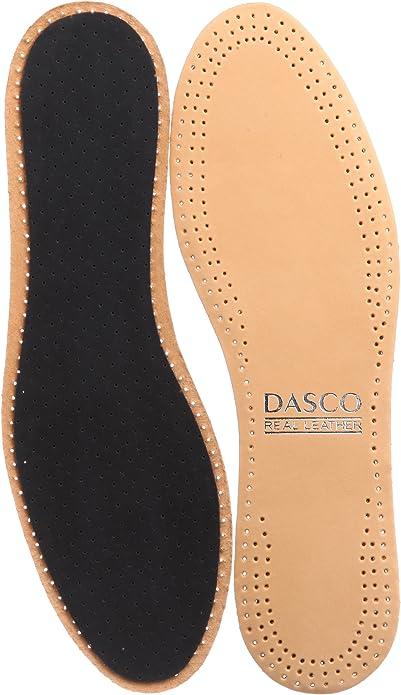 [ダスコ] 靴の本場英国の中敷き シュープレザー インソール 足あたりが良くなじみやすい羊革 メンズ