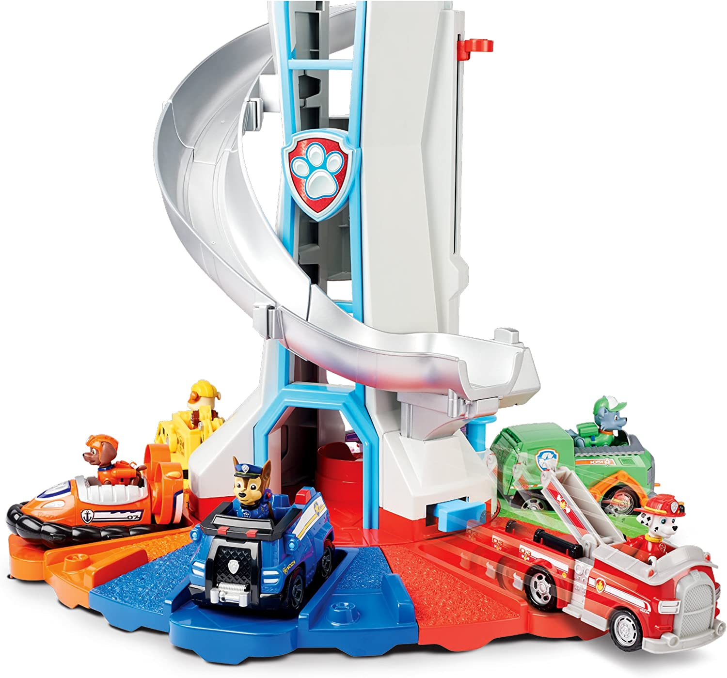 PAW Patrol Lookout Tower w// Exclusive Vehicle Lights Sounds Kids Toy Set