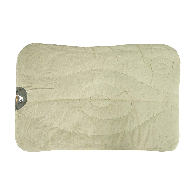 OllyDog Vagabond Packable Travel Bed, Bog Iguana, One Size