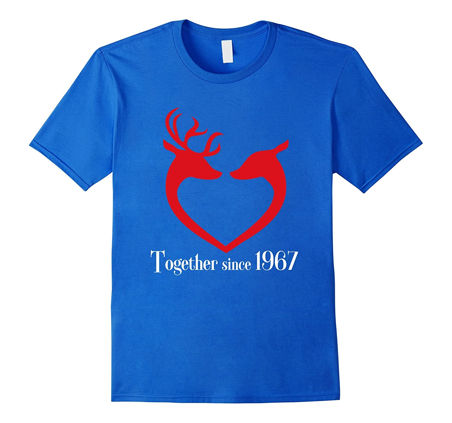 Top T-shirt for Best Couple Since 1967, Cool Christmas Gifts-RT ...