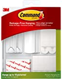 Command Picture Hanging Kit, Indoor Use (17213-ES), White