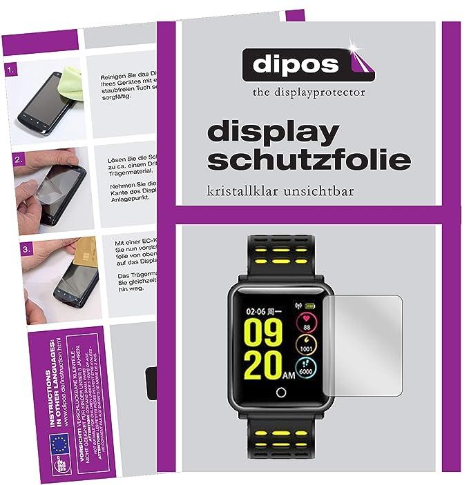 dipos I 6X Protector de Pantalla para TagoBee TB06 Smartwatch pelicula Protectora Claro: Amazon.es: Electrónica