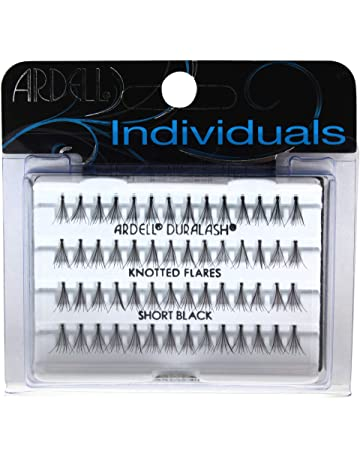 Ardell Dura Lash Pestañas llamarada corto negro 56 pestañas individuales