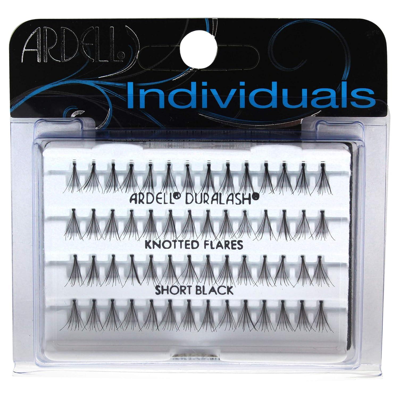 adefcc9012c Amazon.com : Ardell DuraLash Individual Long Flare Lashes, Black 56 ea :  Fake Eyelashes And Adhesives : Beauty