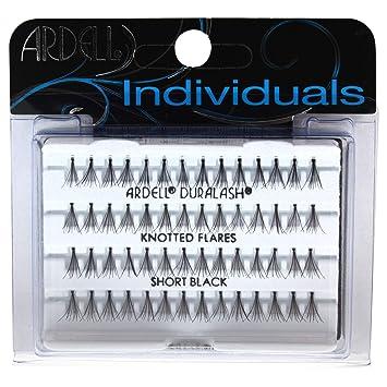 cc269ae1e01 Amazon.com : Ardell DuraLash Individual Long Flare Lashes, Black 56 ea : Fake  Eyelashes And Adhesives : Beauty
