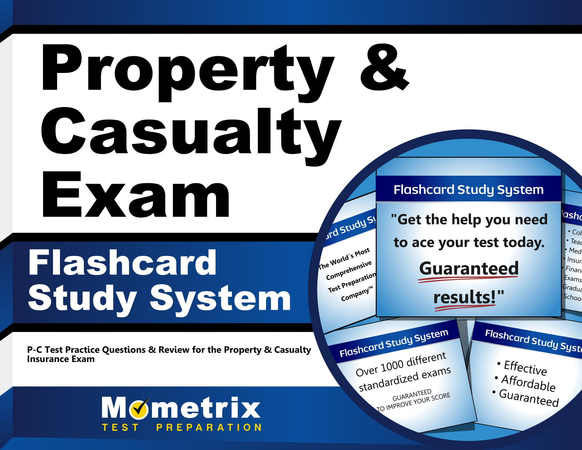 Buy Property & Casualty Exam Flashcard Study System: P-C