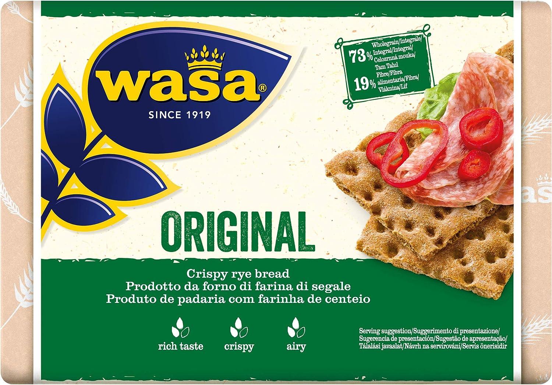 Wasa, Pan crujiente, Original 275gr: Amazon.es: Alimentación y bebidas