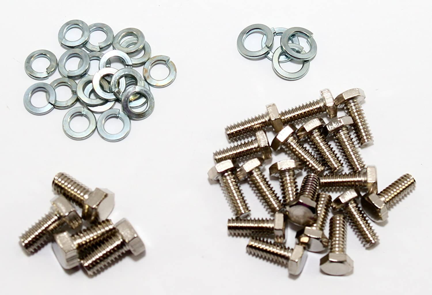 Assault Racing Products A9901SBF Small Block Ford Zinc Plated Hex Head Oil Pan Bolt Kit 289 302 351W
