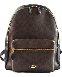 4c78952f5 Amazon.com: CHARLIE BACKPACK (COACH F29004) BLACK/IMITATION GOLD: Shoes