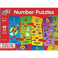 Galt Toys, Number Puzzles (3 Piece)